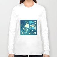 marine Long Sleeve T-shirts featuring marine by Carlos Castro Perez