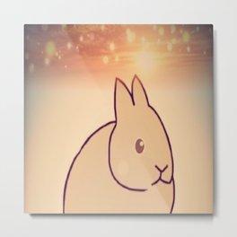 Rabbit-187 Metal Print