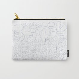 abstract splash Carry-All Pouch