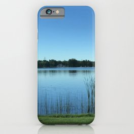 Blue is Longing iPhone Case