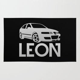 Seat Leon Cupra R - silver - Rug