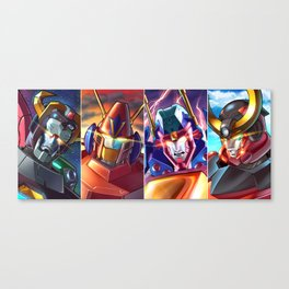 Super Robots! Canvas Print