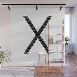 X Wall Mural
