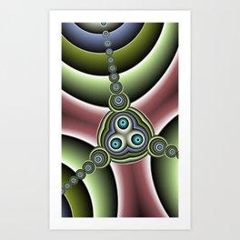 fractal geometry -114- Art Print