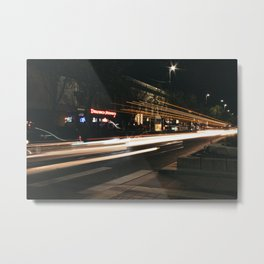 Downtown Lights 2 Metal Print
