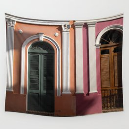 two houses in Puerto Rico Wall Tapestry