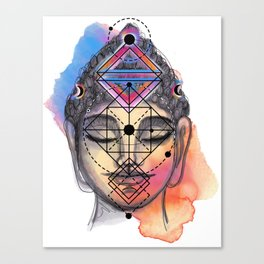 Buddha Power Canvas Print