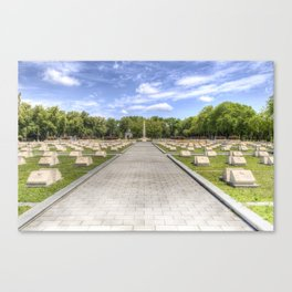 Russian War Graves Budapest Canvas Print