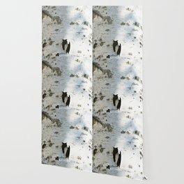 Birch bark pattern Wallpaper