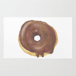 Chocolate Iced Doughnut Rug