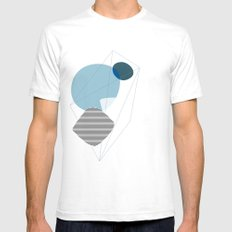 Graphic 133 SMALL Mens Fitted Tee White