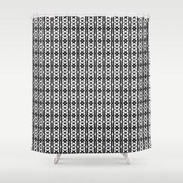 stylized 'a' pattern Shower Curtain