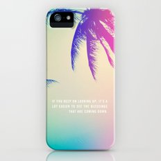 Keep on Looking up. Slim Case iPhone (5, 5s)