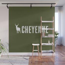 Deer: Cheyenne, Wyoming Wall Mural