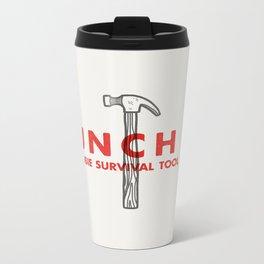 Punch it - Zombie Survival Tools Metal Travel Mug