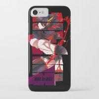 kill la kill iPhone & iPod Cases featuring Kill La Kill by feimyconcepts05