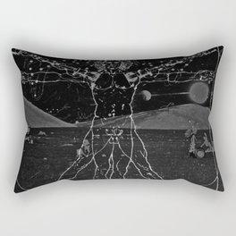 Robotic Man Anatmoy  Rectangular Pillow