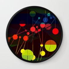Planetary System I Wall Clock