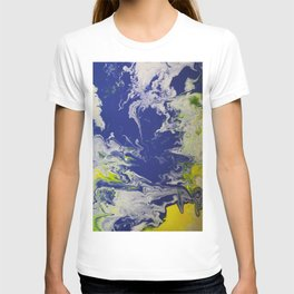 Marble Earth Pour T-shirt