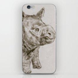 Baby Rhino iPhone Skin