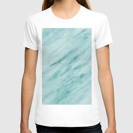 Audace Turchese green marble T-shirt