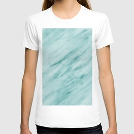 Audace Turchese green marble T-shirt