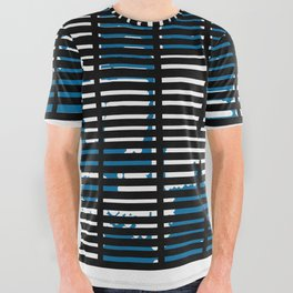 Shutters Grid All Over Graphic Tee
