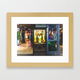 Mighty Zoltar Speaks Framed Art Print
