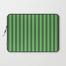 Spring Green Stripes Pattern Laptop Sleeve