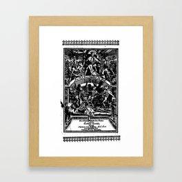 KING DEATH'S RITUAL Framed Art Print