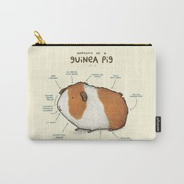 Anatomy of a Guinea Pig Carry-All Pouch
