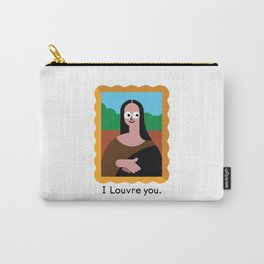 Smirk of Art Carry-All Pouch
