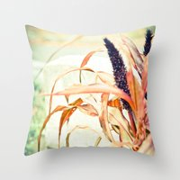anonymous Throw Pillows featuring Anonymous by Elina Cate