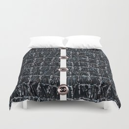 coco fashion week style Duvet Cover