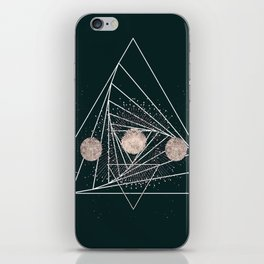 Moon Matrix iPhone Skin
