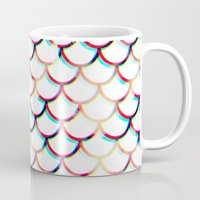 koi fish Mugs featuring Koi Fish by JoanaRosaC