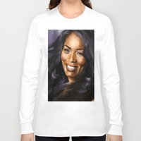 queen Long Sleeve T-shirts featuring Queen by Lily Fitch