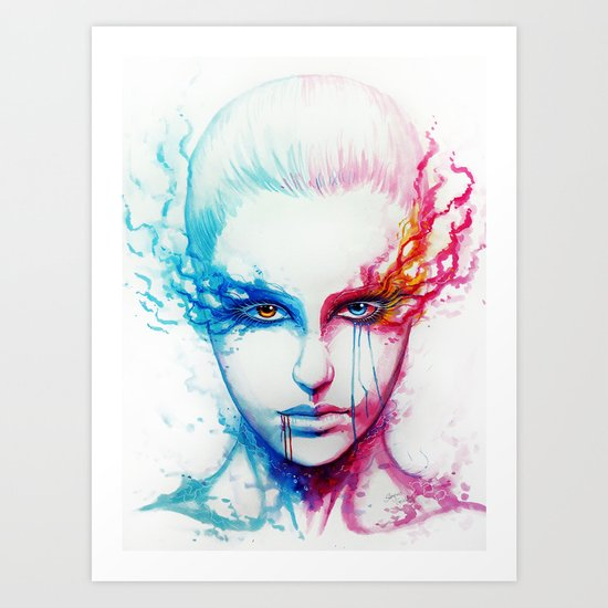 """Bipolarity"" Art Print"