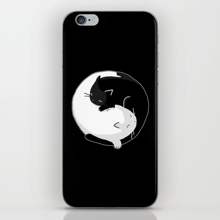 Yin Yang Cats iPhone Skin