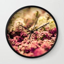 Serendipitous Moment Wall Clock