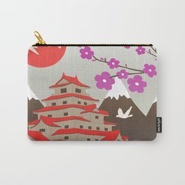 Japanese Pagoda Carry-All Pouch