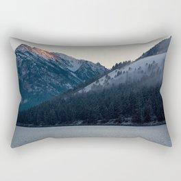 Last Light at Wallowa Lake Oregon Rectangular Pillow