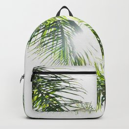 Summer Palm Trees - Modern Minimalist Backpack