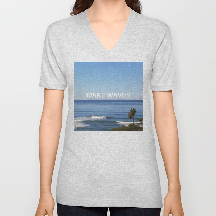 Make Waves Unisex V-Neck