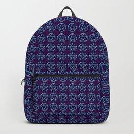 Blue Pentagram Backpack
