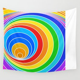 spiral couleur 6 Wall Tapestry
