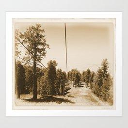 The Lift Art Print