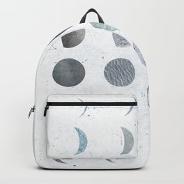MOON PHASE - PRINTED MOON ILLUSTRATION Backpack