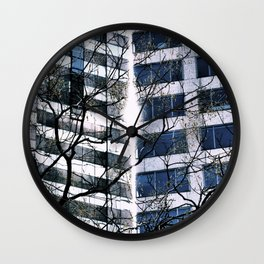 Split the Heavens Wall Clock