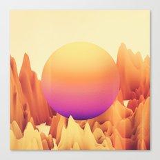 Neon Rider Canvas Print